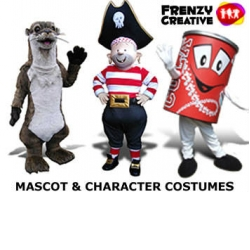 Mascot Costumes UK - by Frenzy Creative