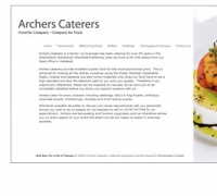 Archers Caters - For All Occasions