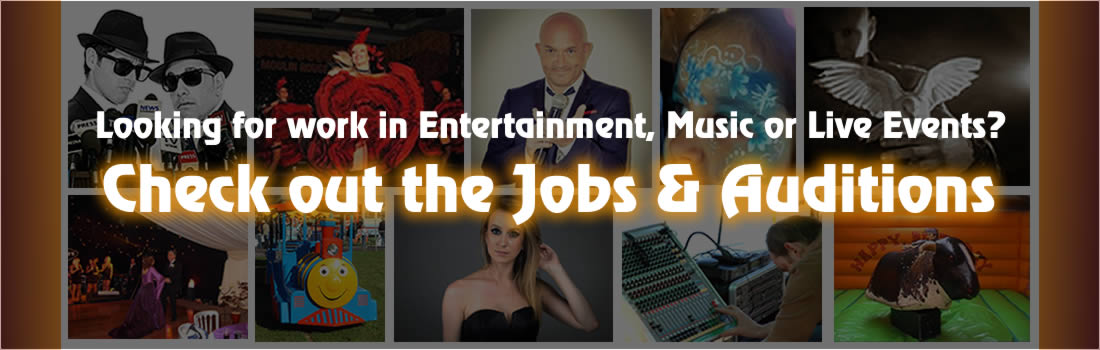 Entertainment jobs and auditions