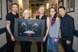 Muse presented with award for record-breaking crowds at The O2
