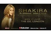 Shakira Announces London Date As Part Of Her El Dorado World Tour